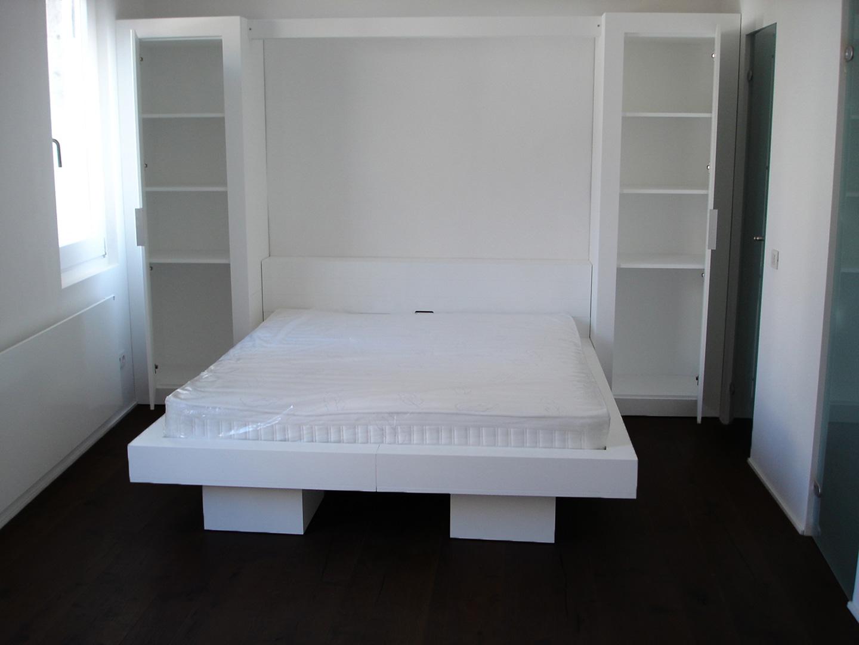Cama empotrada en armario top mueble armario y cama - Cama empotrada en armario ...